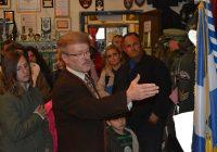 Επίσκεψη της τοπικής διοίκησης ΙΡΑ Θεσπρωτίας στο Μουσείο μας.